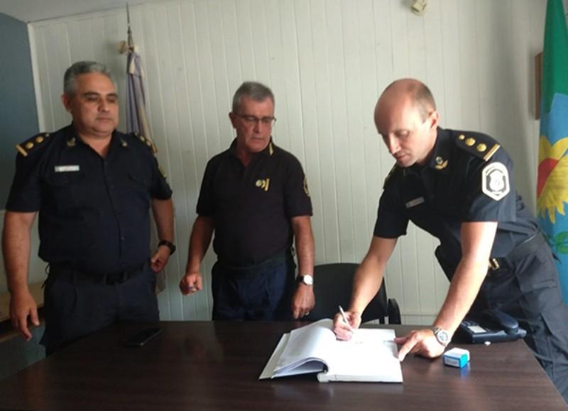 El comisario Daniel González ya está en funciones.