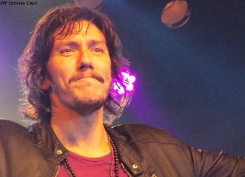 Juani Rodríguez, cantante de Andando Descalzo.