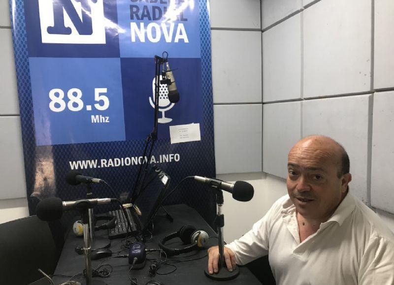 El secretario de Obras y Servicios Públicos, en el aire de BerissoCiudad en Radio.
