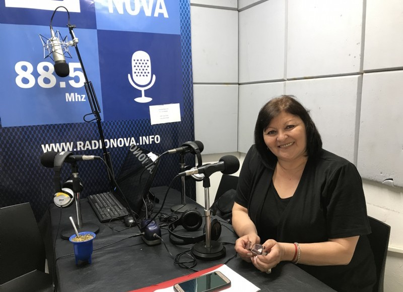 Mónica Romero, en el aire de BerissoCiudad.