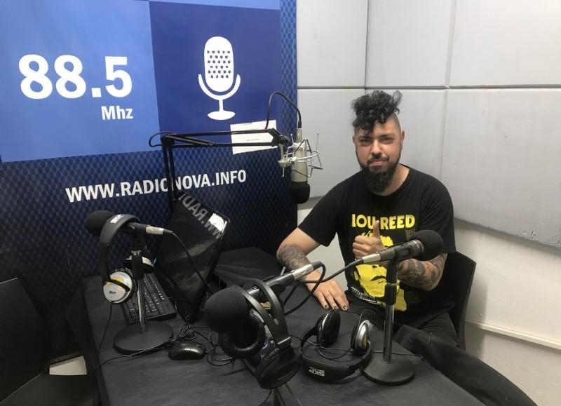 Fernando Menvielle en el aire de BerissoCiudad en Radio.