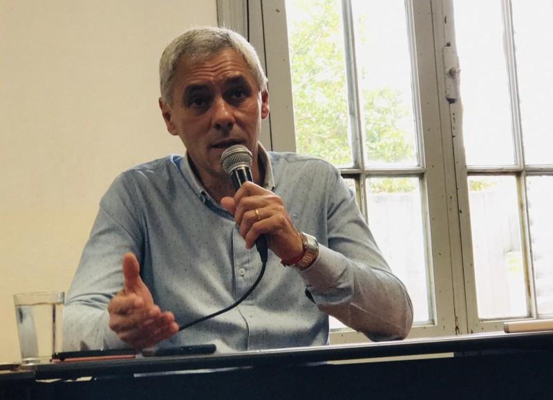 El intendente electo, Fabián Cagliardi.