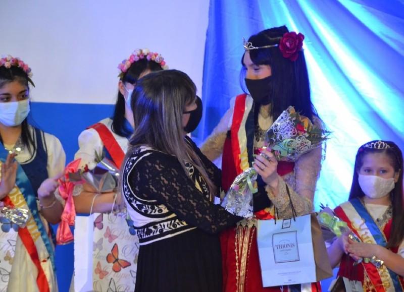 Ceremonia en el Club Almafuerte.