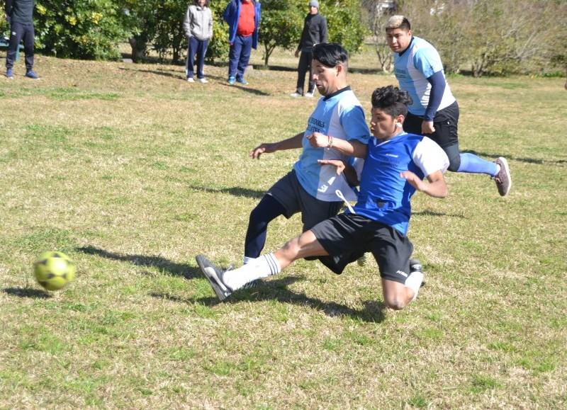 Actividad en Los Talas.