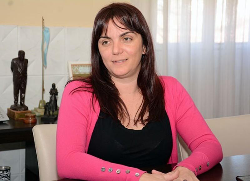 Manuela Chueco, secretaria de Promoción Social.