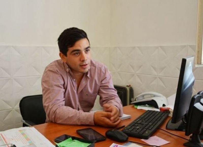 Matías Nanni, presidente del cuerpo parlamentario local.