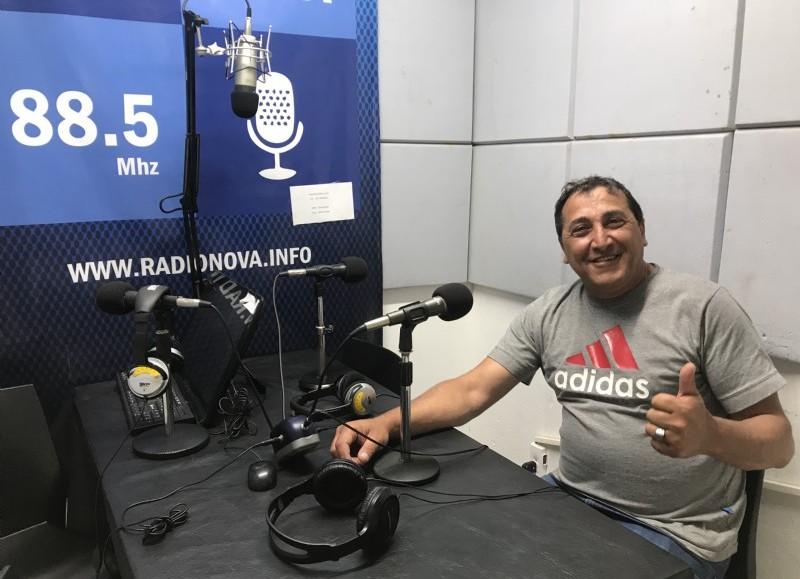 Marcelo Chediak, en el aire de BerissoCiudad en Radio.