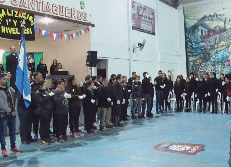 Ceremonia realizada en el Club Santiagueños.