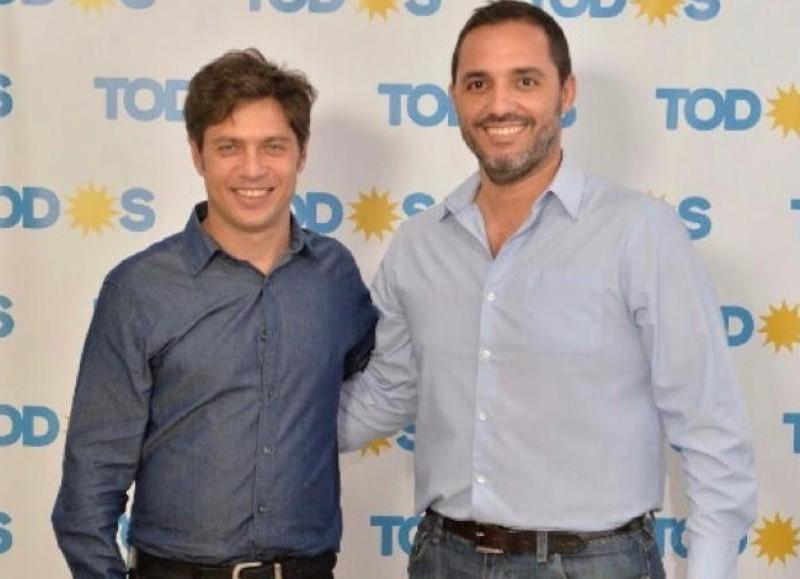 Axel Kicillof y Juan Ignacio Mincarelli.