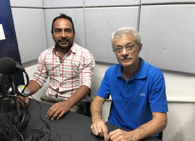 Federico Romero y Néstor Melendi.