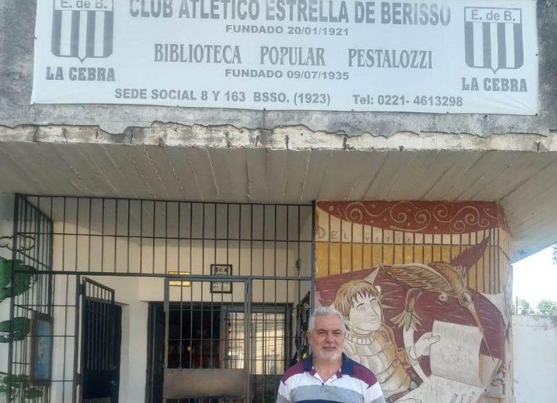 Carlos Crisci, presidente de la Cebra.
