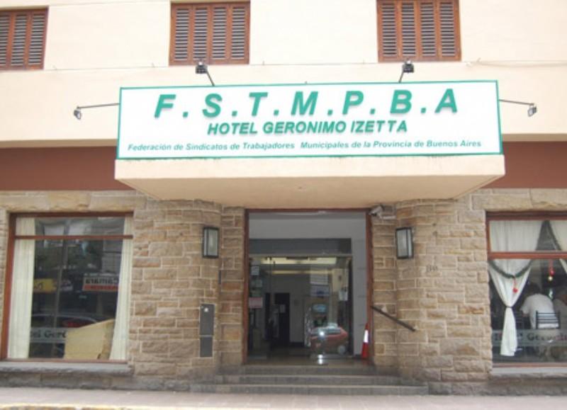 Hotel Gerónimo Izzeta.