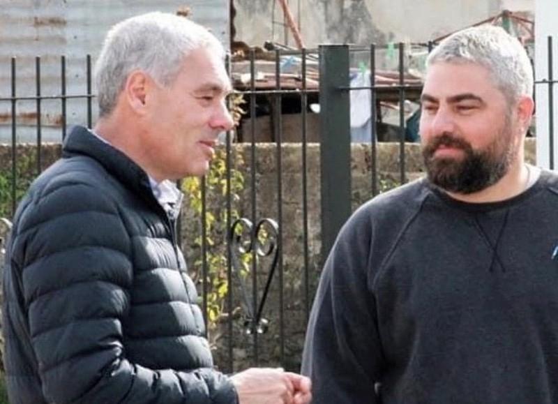 Fabián Cagliardi y Gonzalo Hayón.
