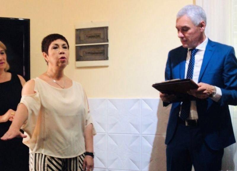 El día de la asunción, junto al intendente Cagliardi.