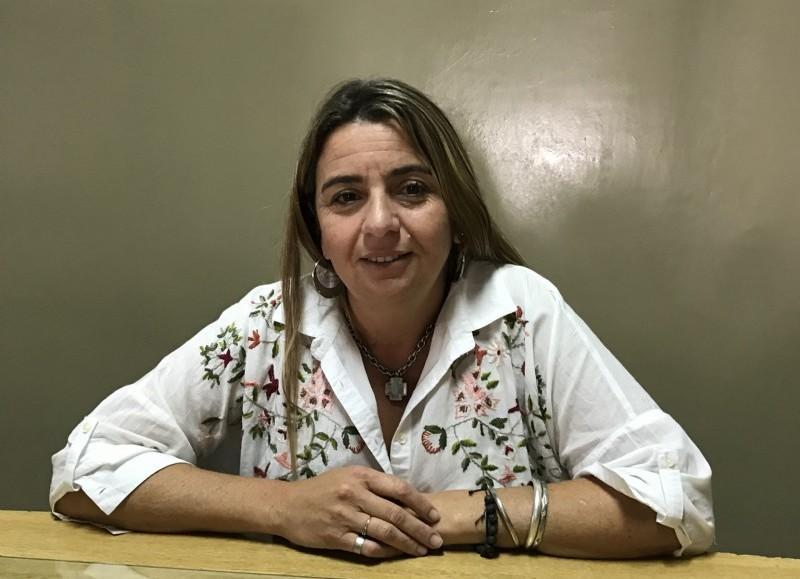 La titular del Consejo Escolar, Inés García.