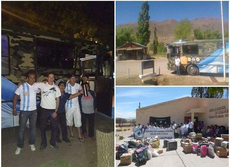Anteriormente realizaron una cruzada solidaria similar llevando alimentos y ropa a Catamarca.