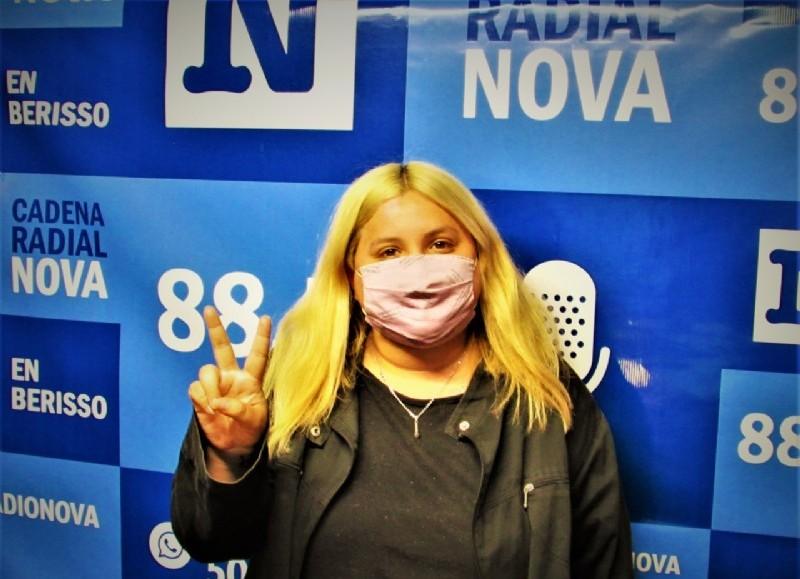 Camila Faliani, referente de Los Irrompibles.