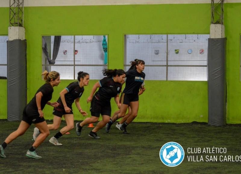 Movimientos en el Club Centenario de Gonnet (fotos: Prensa VSC).