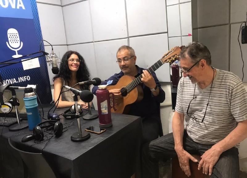 Performance en el aire de BerissoCiudad en Radio.