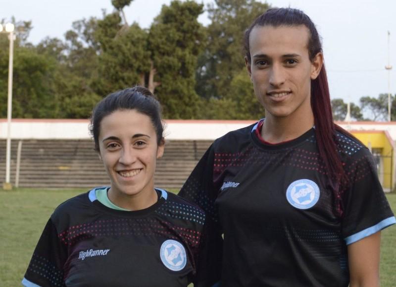 Ludmila Angeli y Mara Gómez, en el comienzo de la pretemporada (foto: Prensa VSC).