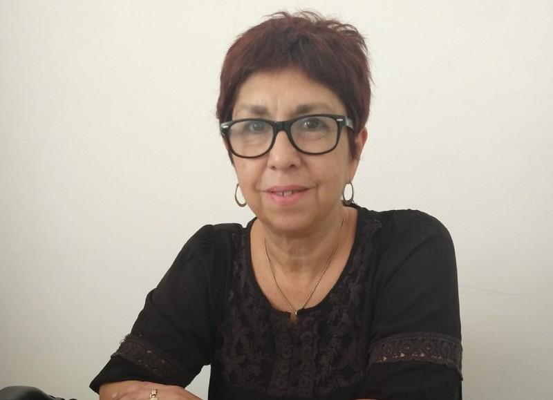 Rita Hernández, secretaria de Salud comunal.