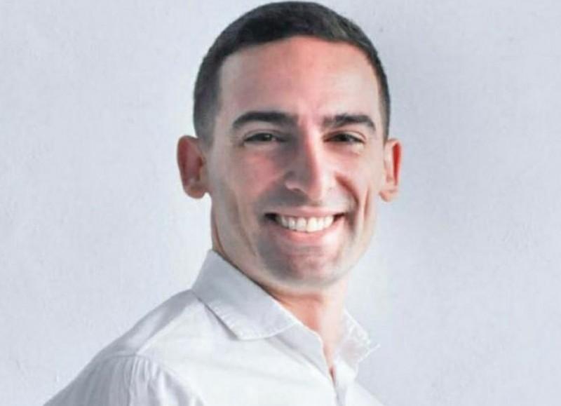 Agustín Celi, concejal del interbloque del Frente Renovador.