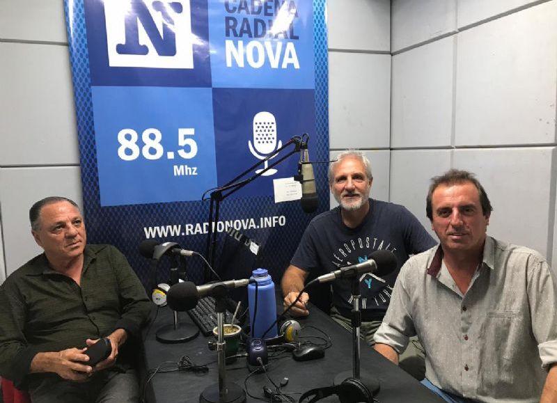 Referentes del STMB en el aire de BerissoCiudad en Radio.