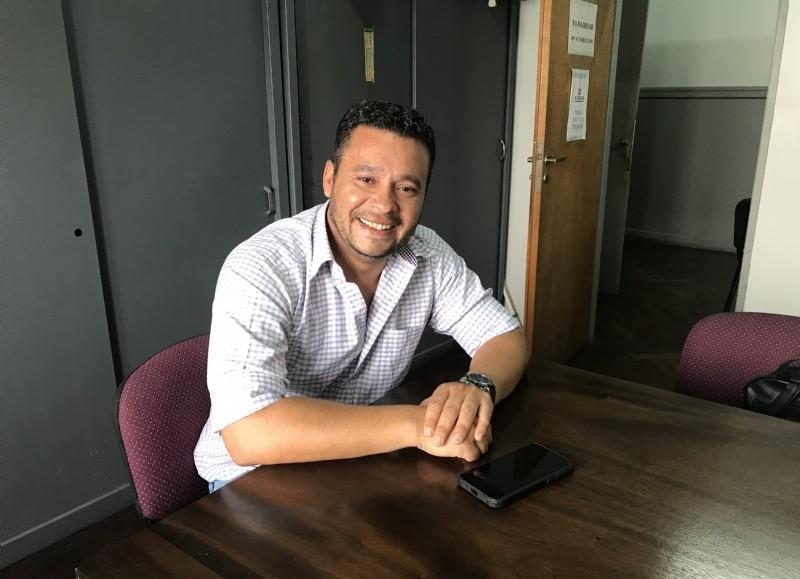 El concejal oficialista, Sergio Rolón.