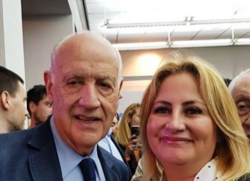 Roberto Lavagna y Lorena Rusillo.