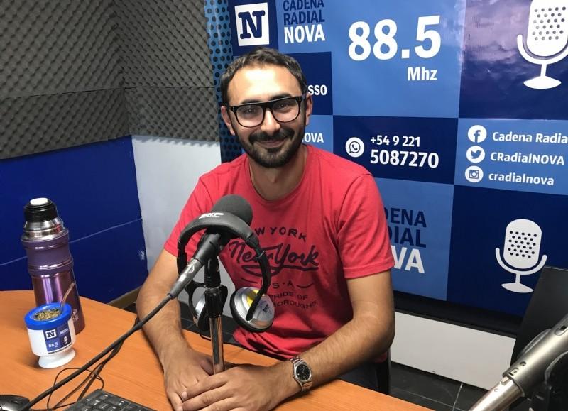 Santiago D'Elía, referente del Centro Cultural y Político Juanjo Bajcic.