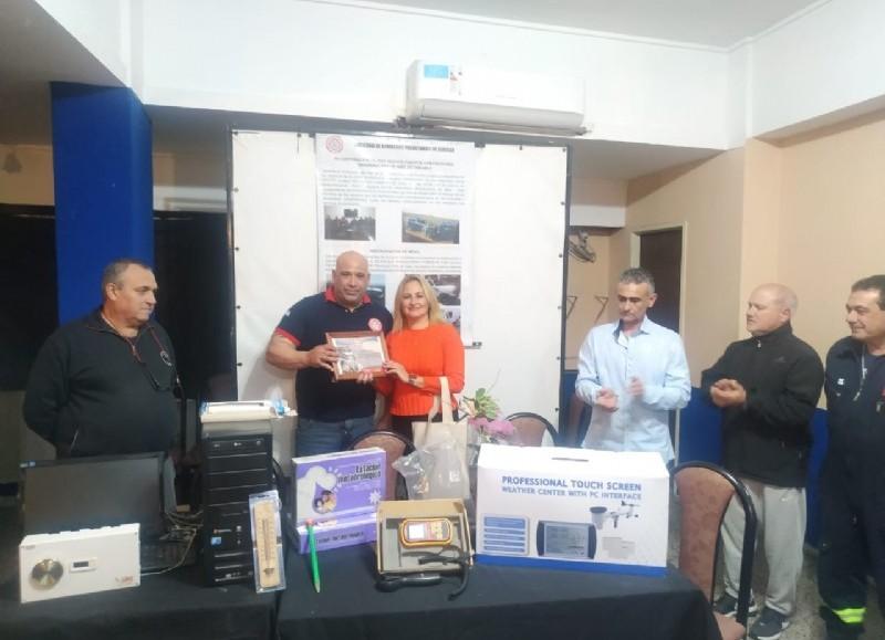 Equipamiento donado por Lorena Russillo y Javier Otalora.