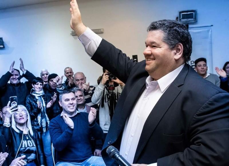 El intendente busca la reelección.