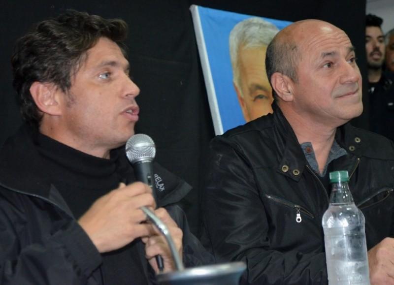 Axel Kicillof y Mario Secco.