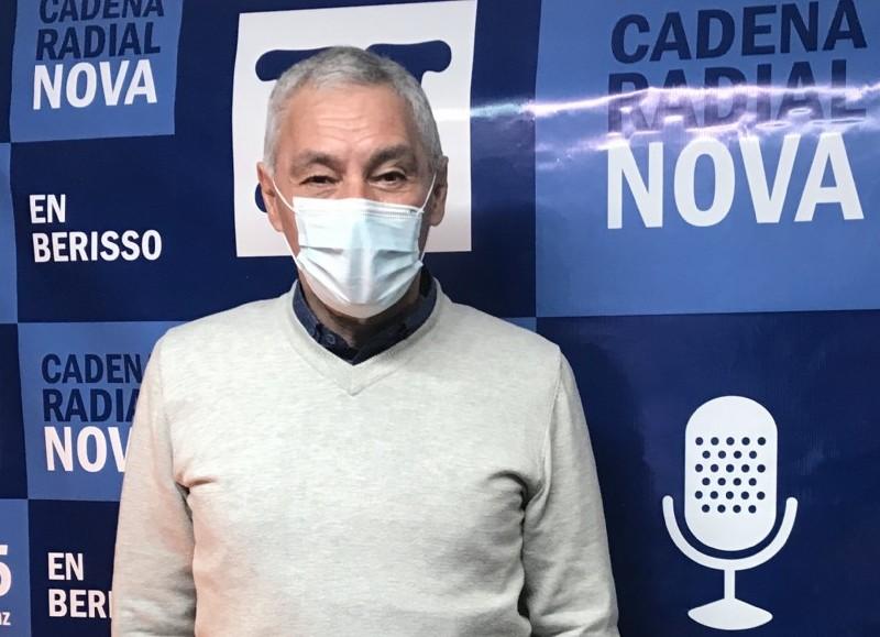 Fabián Cagliardi, jefe comunal berissense.