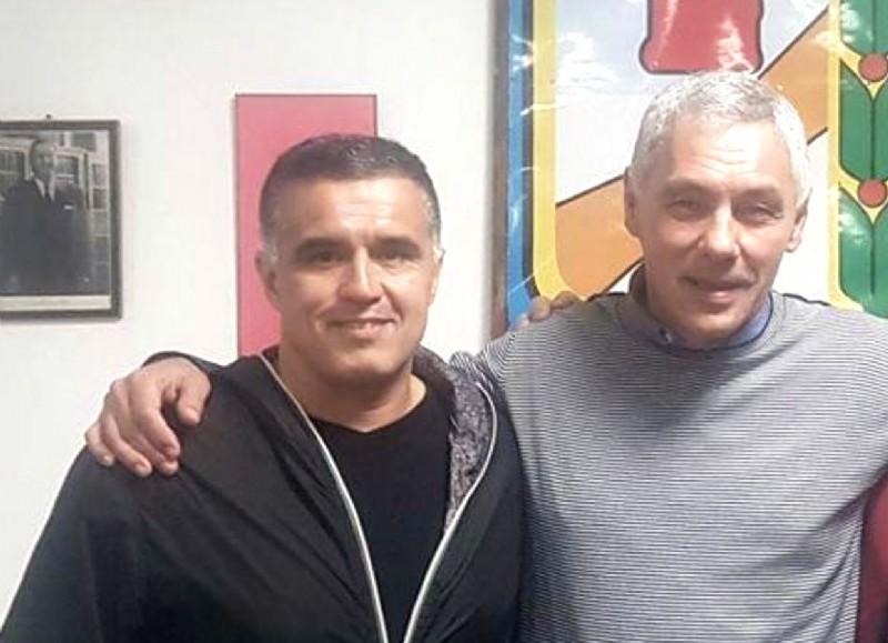 Gabriel Marotte y Fabián Cagliardi.