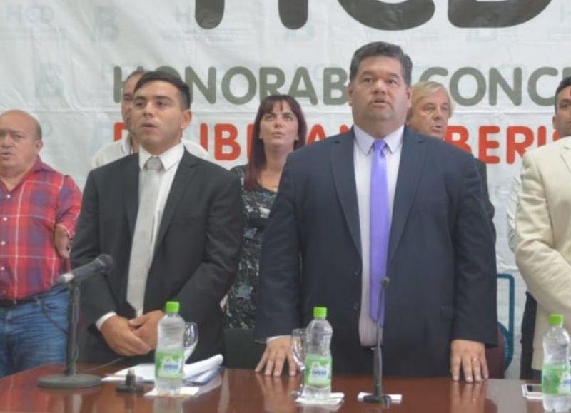 Jorge Nedela va por la reelección en la Intendencia.