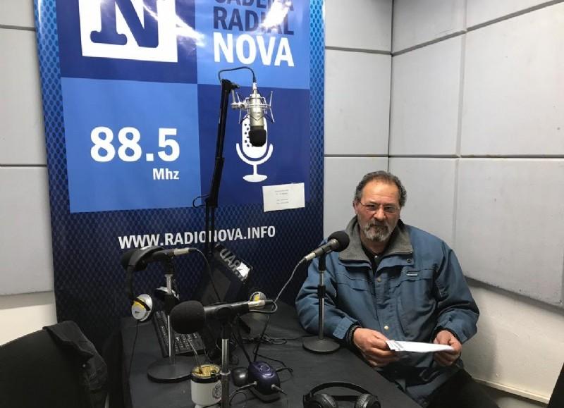 Rubén, dueño de un kiosco.