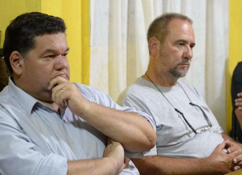 Jorge Nedela y Claudio Topich.