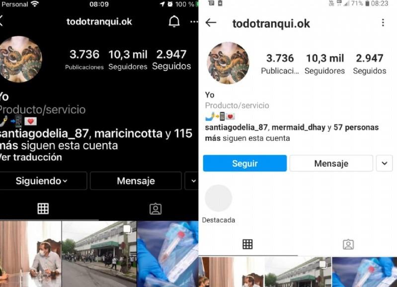 """En la madrugada del 8 de abril, nos llegó la información de que un """"equipito de hackers"""", ingresó a nuestra cuenta de Instagram Berisso_Ciudad, para ser llamados Todotranqui.ok."""