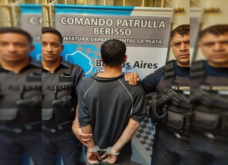 """Pablo Miguel Reynoso, alias """"Pulo"""", de 40 años de edad, fue detenido."""