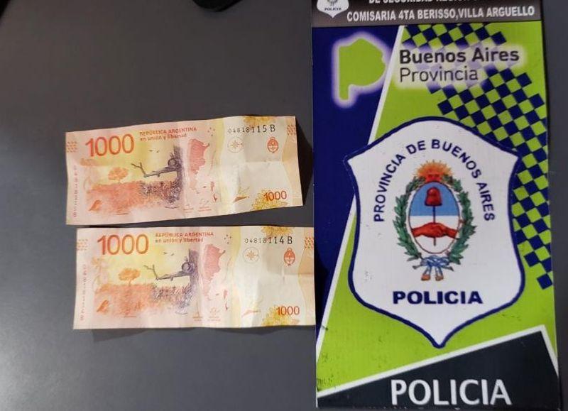 Habían recibido 2 mil pesos.