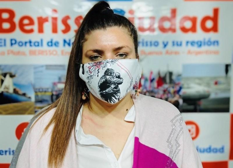 Victoria Curutchet, directora de Recursos Humanos municipal.