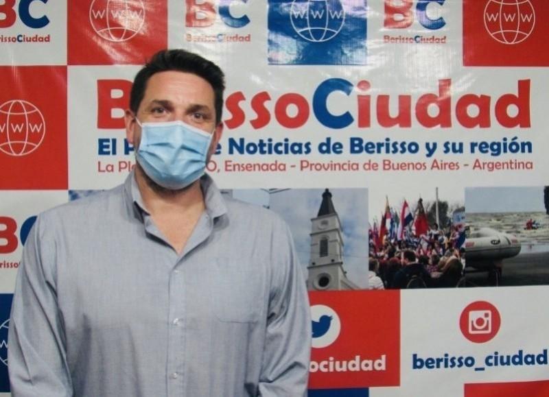 Santiago Ramírez Borga, secretario de Salud comunal.