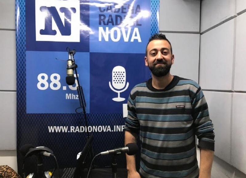 Federico Surila, referente local del FIT-Unidad.