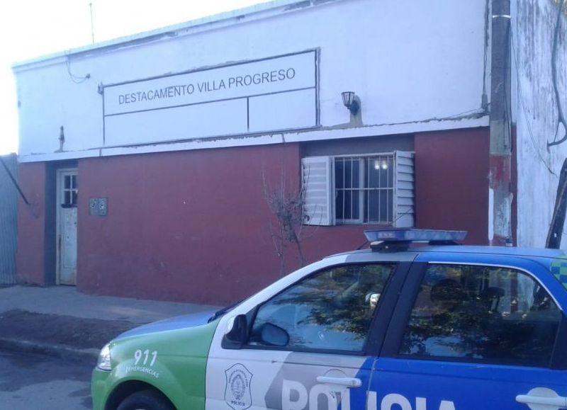 Fueron trasladados al Destacamento Villa Progreso.