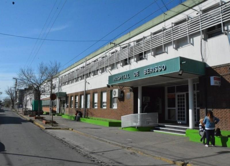 Internado en el Hospital Larraín (foto de archivo).