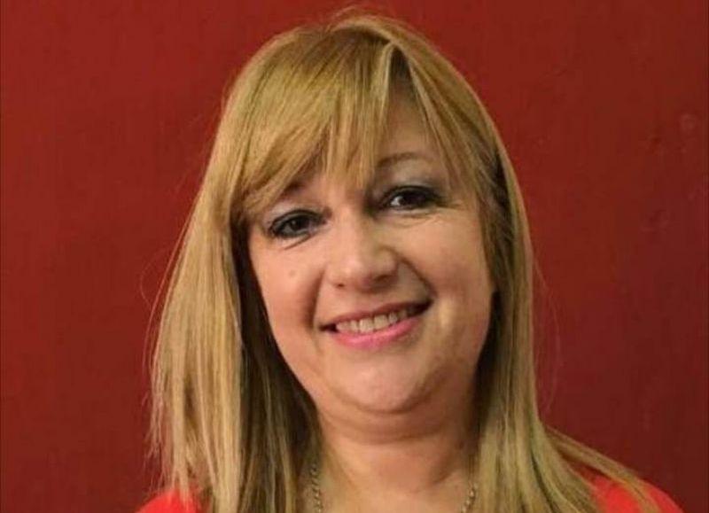 Claudia Valerga, vicepresidente del Consejo Escolar.