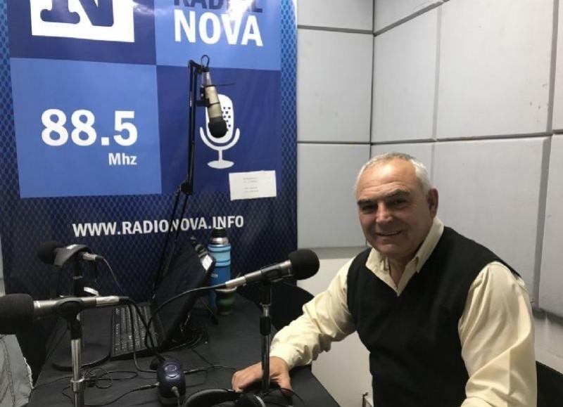 Ángel Celi, referente massista local.
