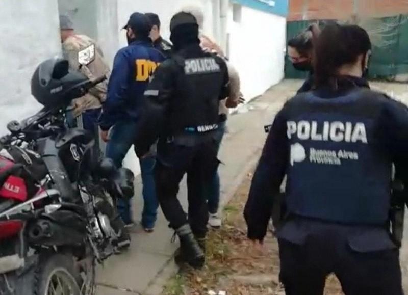 Eficaz despliegue policial.