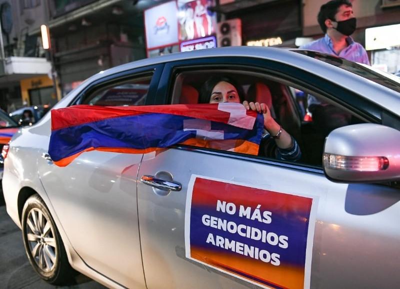 Manifestación en la jornada del sábado.